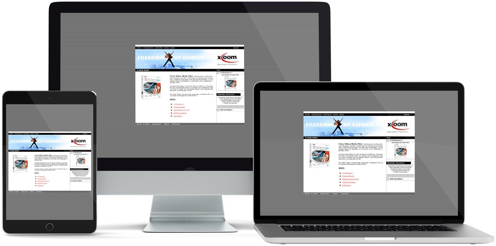 Dreamweaver Webdesign: X-OOM