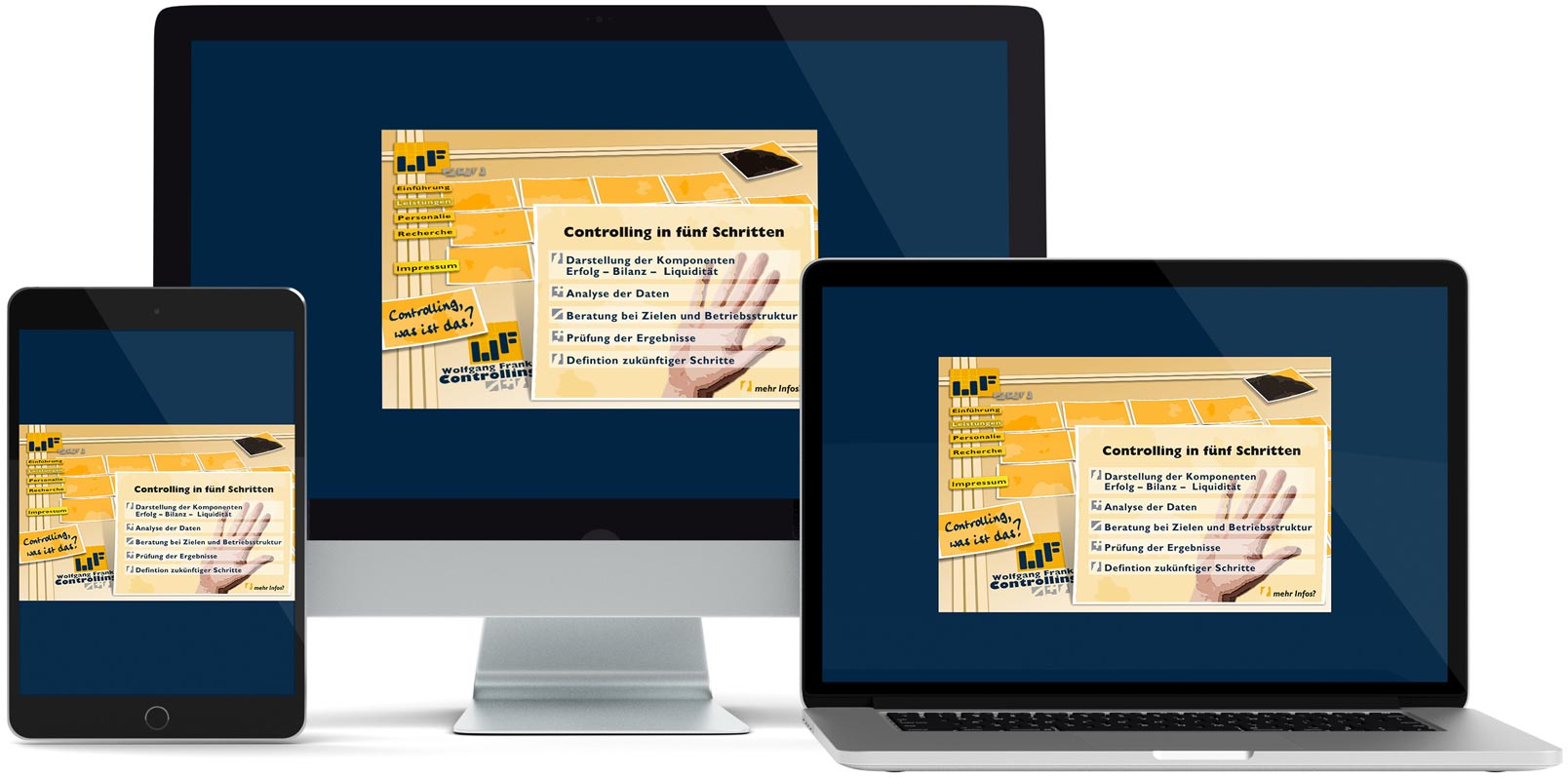 Dreamweaver Webdesign: Franken Controlling