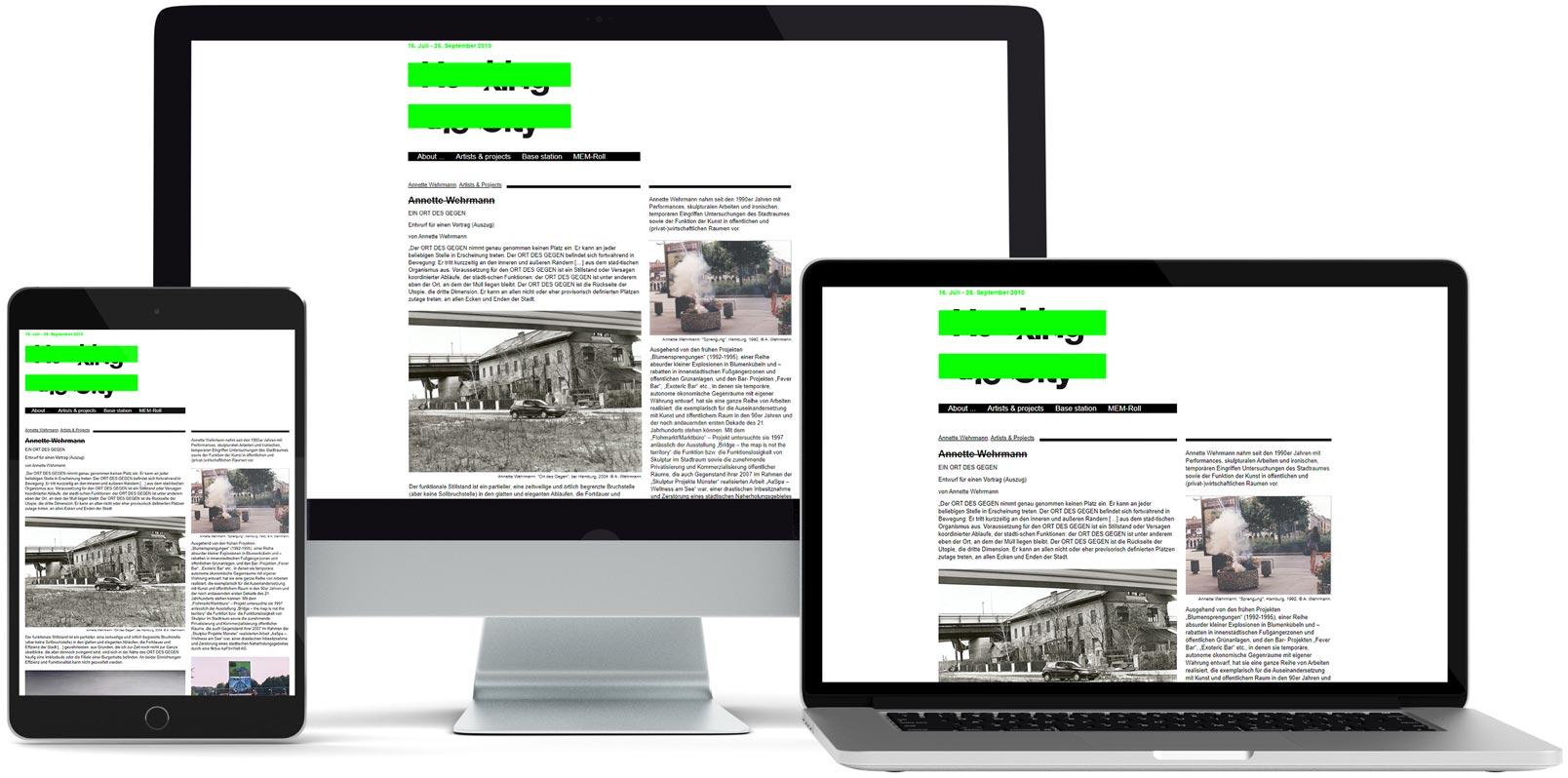 WordPress Webdesign: Museum Folkwang