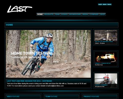Last-Bikes - WordPress Webdesign Düsseldorf