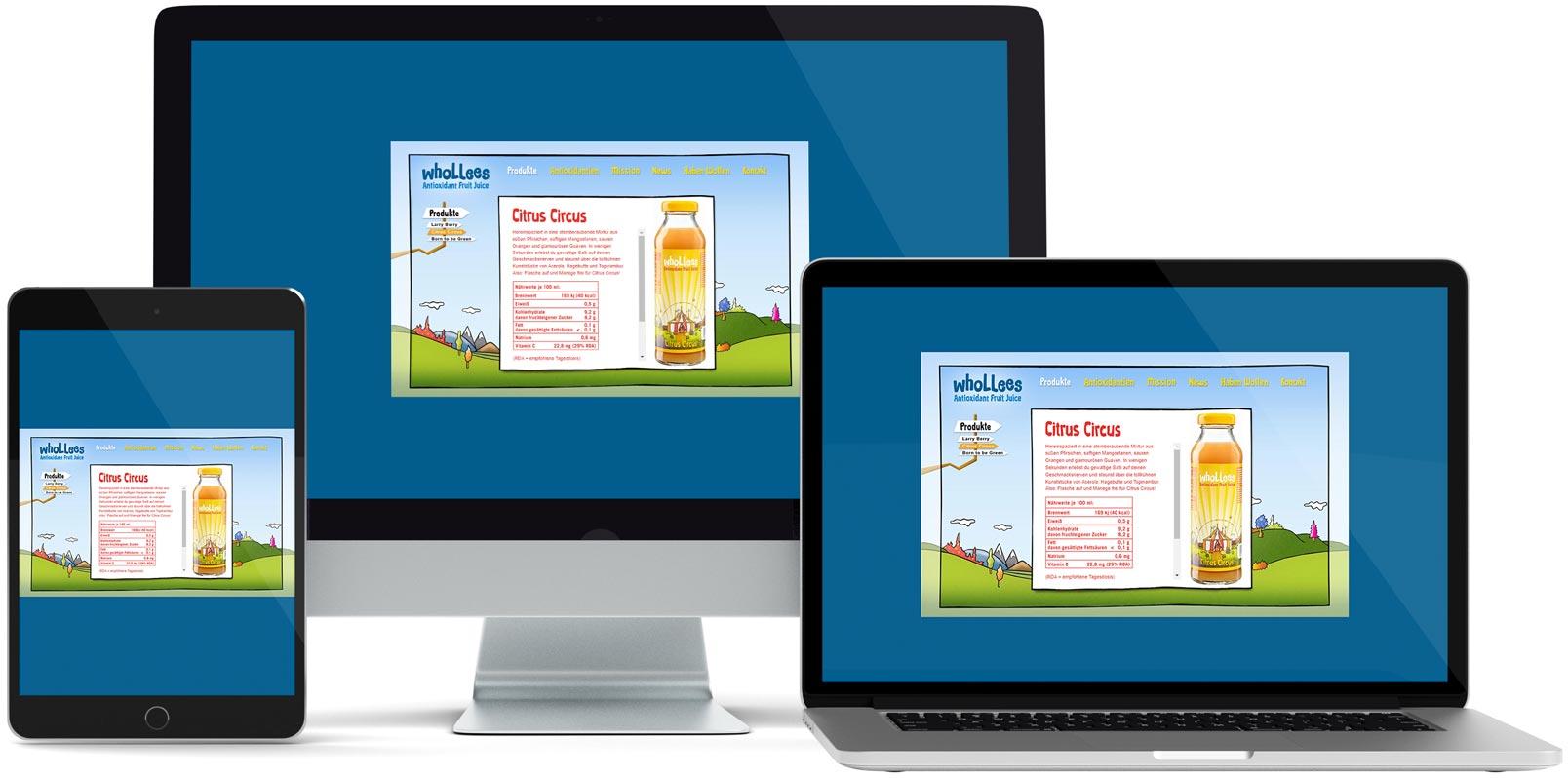 Dreamweaver Webdesign: Whollees