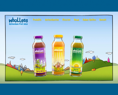 Whollees - Dreamweaver Webdesign Düsseldorf