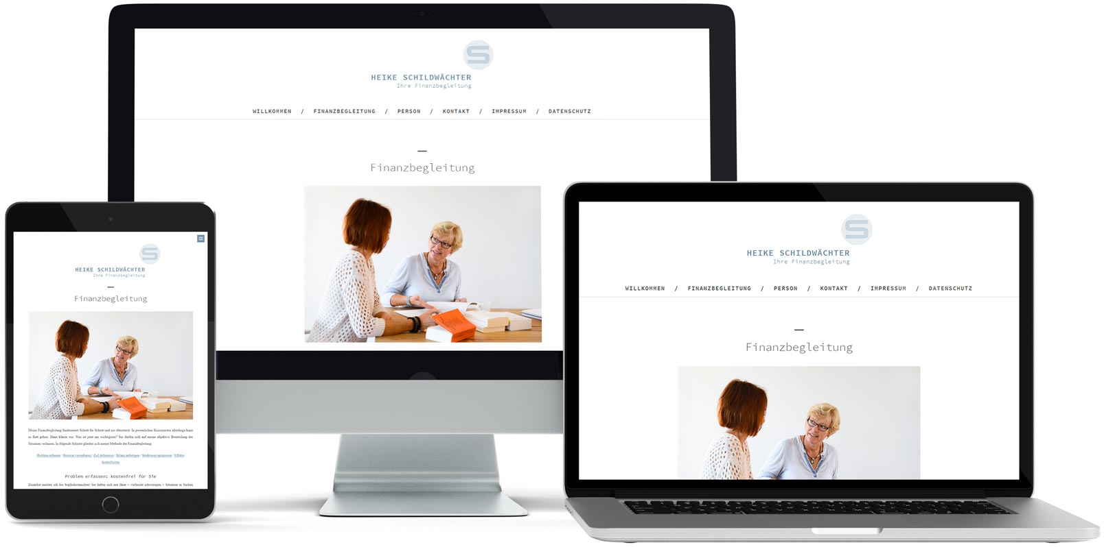 WordPress Webdesign: Heike Schildwächter