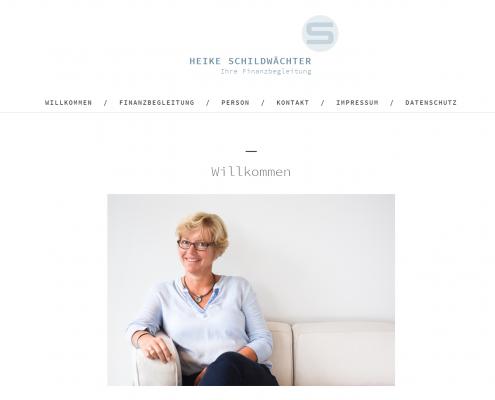 Heike Schildwächter - WordPress Webdesign Düsseldorf