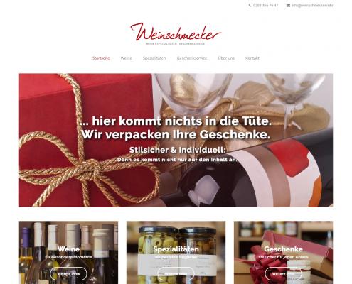 Weinschmecker - WordPress Webdesign Düsseldorf