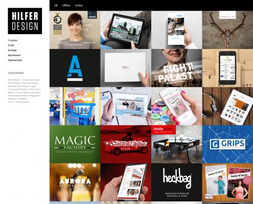 Hilfer Design - WordPress Webdesign Düsseldorf