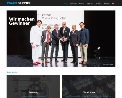 Award Service - WordPress Webdesign Düsseldorf