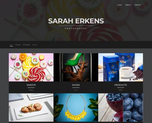Sarah Erkens - WordPress Webdesign Düsseldorf