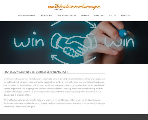 SWP Betriebsvereinbarungen - WordPress Webdesign Düsseldorf