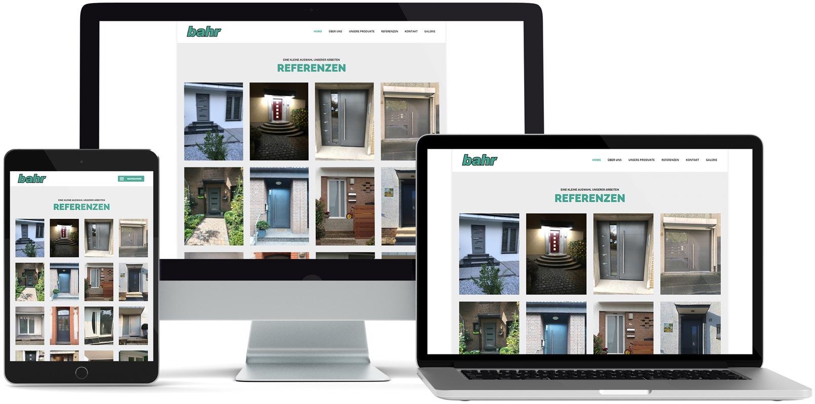 WordPress Webdesign: Bahr Online
