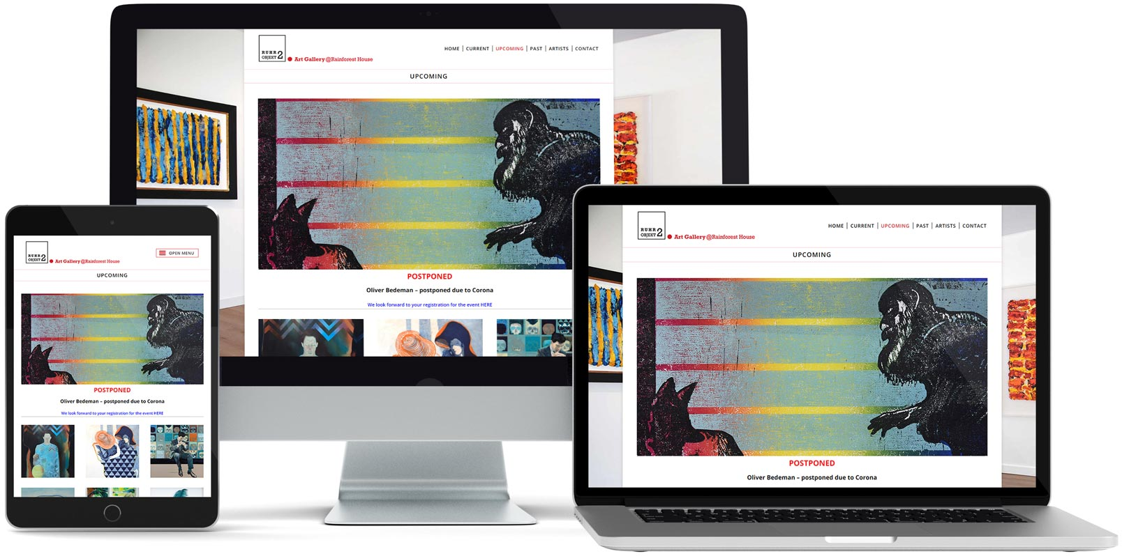 WordPress Webdesign: Ruhr Objekt 2