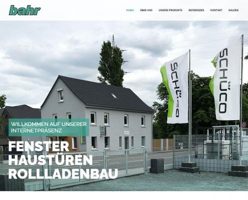 Bahr - WordPress Webdesign Düsseldorf
