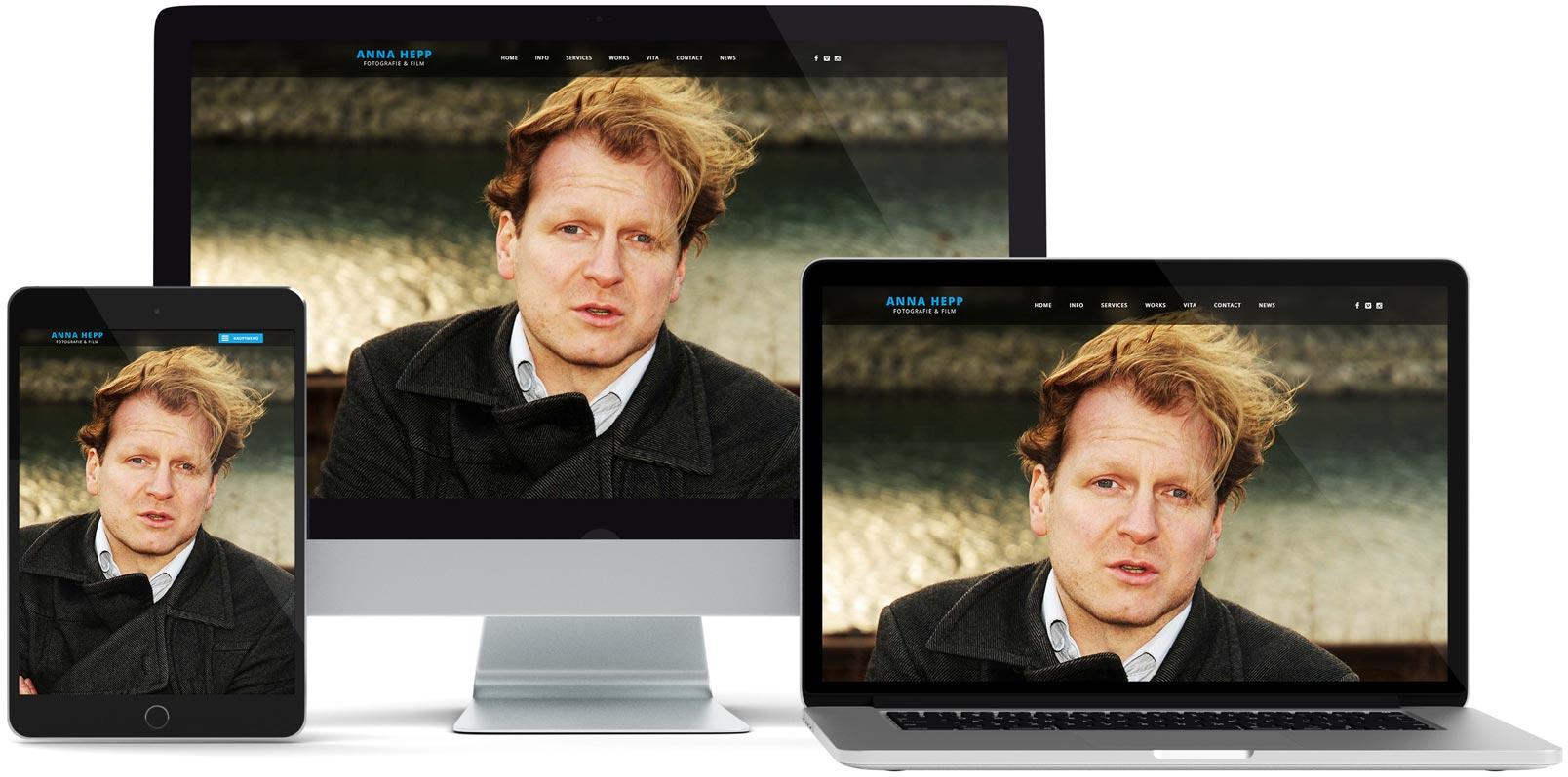 WordPress Webdesign: Anna Hepp