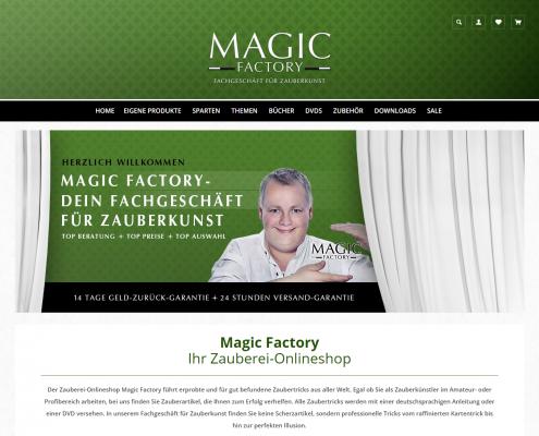 Magic-Factory - WordPress Webdesign Düsseldorf