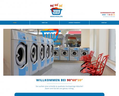 WordPress Webdesign: 90° 60° 30°